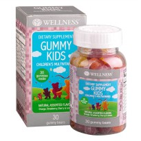 WELLNESS GUMMY KIDS (30) | Multivitamin Anak
