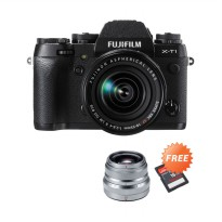 Fujifilm X-T1 Kit XF18-55mm Kamera Mirrorless (Promo)