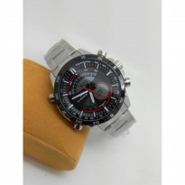 jam tangan pria / cowo naviforce dualtime original anti air