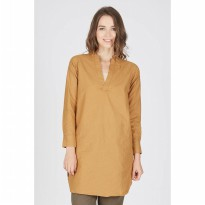 Fransisca Brown Tunic Dress
