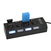 H4-280 USB HUB 2.0 4 PORT + 4 SWITCH