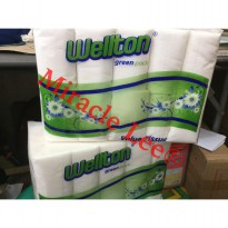 Tissue Coreless merk WELTON - Tissue Gulung Toilet - Tissue Roll (10 Roll )