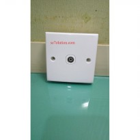 Schneider Electric Classic Stop Outlet TV (E426)