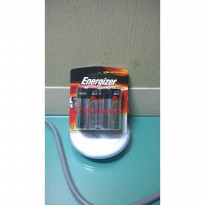Energizer Max Long Lasting Power Baterai Size D (2 Pcs)