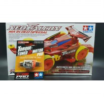 TAMIYA NEO FALCON RED SPECIAL + TORQUE 2 PRO