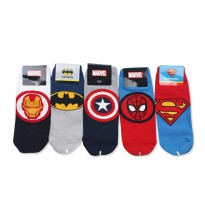 Kaos Kaki Korea Marvel Superhero