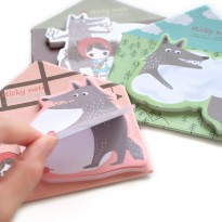 Riding Hood Post it / Note It / Catatan Mini / Label Kertas Lucu Murah