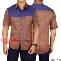 Men'S Formal Plain Shirts SHT 734