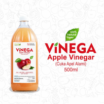 Vinega Cuka Apel Lokal - 500ml