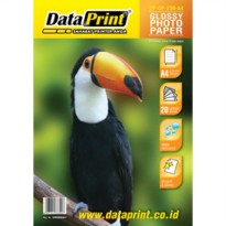 GLOSSY PHOTO PAPER / Kertas Foto Glossy A4 230 gram Data Print
