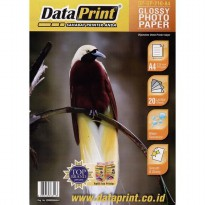 GLOSSY PHOTO PAPER / Kertas Foto Glossy A4 210 gram Data Print