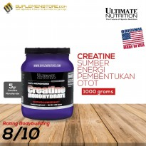 Ultimate Nutrition Creatine Monohydrate Powder - 1000 gr