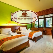Puncak: Royal Safari Garden - Superior Twin Bed Without AC Weekday