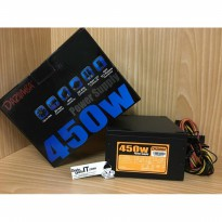 Power Supply Unit/PSU DAZUMBA 450 WATT (Murah & Bergaransi)