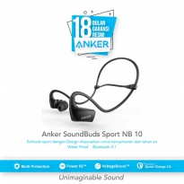 Stereo Headset Bluetooth Headphone ANKER SoundBuds Sport NB10(A3260H11