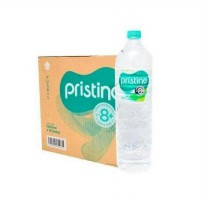 (Ready) 2 dus pristine water 1500ml * 24 botol