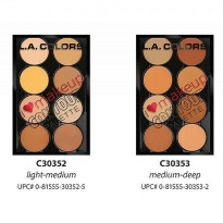 LA Colors I Heart Makeup Contour Palette