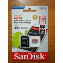 SANDISK MICRO SD 128GB CLASS10 100Mbps