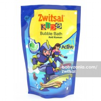 Zwitsal Kids Active Bubble Bath Fantastic Fruit Refill 250 ml