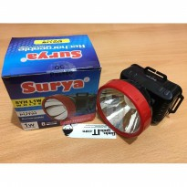 Headlamp Emergency/Lampu Senter Kepala LED SURYA SYH L1W-RECHARGEABLE