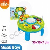 Ocean Toy Musical Learning Table Mainan Anak - 1082 Green