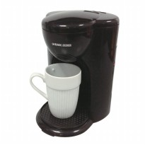 Coffee & Tea Maker Black + Decker Coffee Maker Mini 1 Cup - DCM25B1