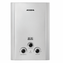 Modena Water Heater Gas GI-6V / Putih