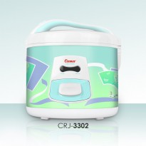 Rice Cooker COSMOS Rice Cooker 1.8 Liter CRJ-3302 - Putih