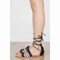 [BERRYBENKA] Amaury Sandals BLACK