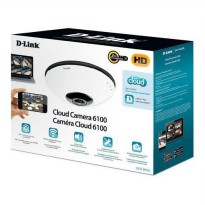 D-Link DCS-6010L Wireless Panoramic Cloud Camera (Micro SD Slot)