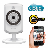 D-Link DCS-933L H.264 Infrared Wireless Cloud IP Camera CCTV