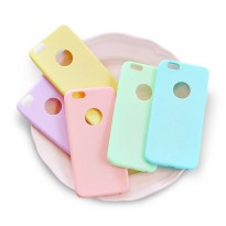 Case Colorful / Candy Case For iPhone 5, 5S, 5E, 6, 6S, 6+, 7, 7+