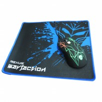 Rexus Gaming Mouse GT3 - 4D Free Mousepad