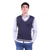 Jfashion Men's Knit Vest Rompi Rajut Pria - Exo