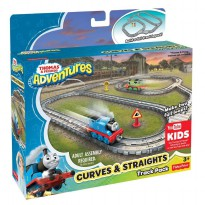 Fisher Price Thomas & Friends Adventures Curves & Straights