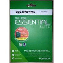 KASPERSKY ANTI VIRUS 3 PC - Tech Titan Essential Suite 4 in 1