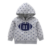 Jaket motif bola baseball for baby