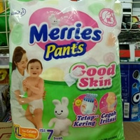 Popok Merries Pants XL (isi 7)