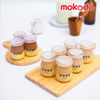 Fromage Pot Isi 4 Jar (Cheesecake didalam Jar)