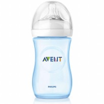 Philips Avent SCF695-17 Natural Baby Bottle - Blue [260 mL]