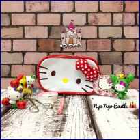 Pouch Kosmetik Sanrio Hello Kitty Face ORI