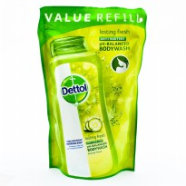Dettol Pouch 450 ml Lasting Fresh