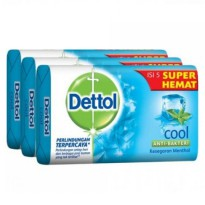 Dettol 65gr Special Price Cool 3pcs
