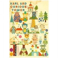 Art Box Jigsaw Puzzle Karl and Curious Tower