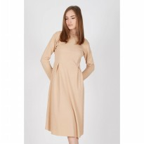 Gia Brown Knot Dress