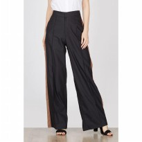 Felka Black Wide Pants
