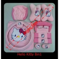 Bantal Mobil Hello Kitty 8in1