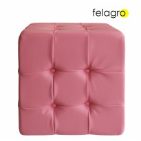 FELAGRO Square Tufted Pink - F1106S2A03