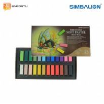 SIMBALION Soft Pastel Half Size HSP-24