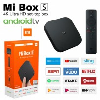 XIAOMI MI BOX S GLOBAL - MIBOX Android TV 4K Ultra HD